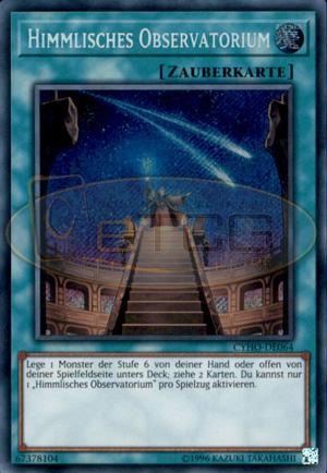 Secret Rare DE NM Himmlisches Observatorium CYHO-DE064