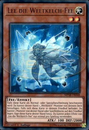 Yu-Gi-Oh Auflage Deutsch Vom Weltkelch auserw/ählt Common MP18-DE045 1