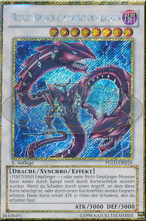 Beelze Von Den Diabolischen Drachen LCKC-DE071 Secret Rare YUGIOH! 1st! NM