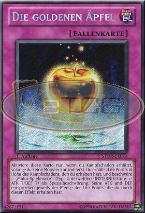 Die Goldenen Äpfel SS01-DEV02 1 Ultra Rare YUGIOH! Auflage! Near Mint
